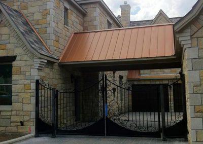 Boyd driveway gate -after
