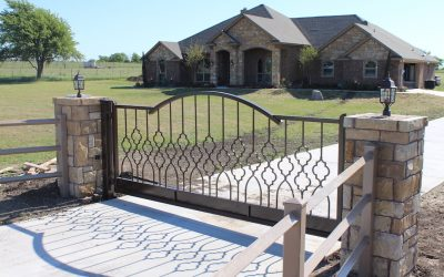 Wrought Iron Gates—Oh, The Beauty They Display!