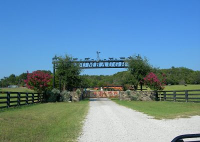 brumbaugh ranch sign
