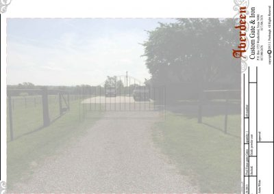 willis ranch gate