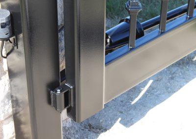 custom iron driveway gate L21