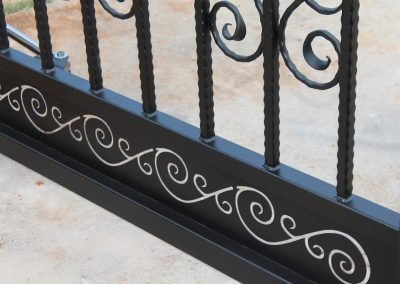 driveway iron gate details2
