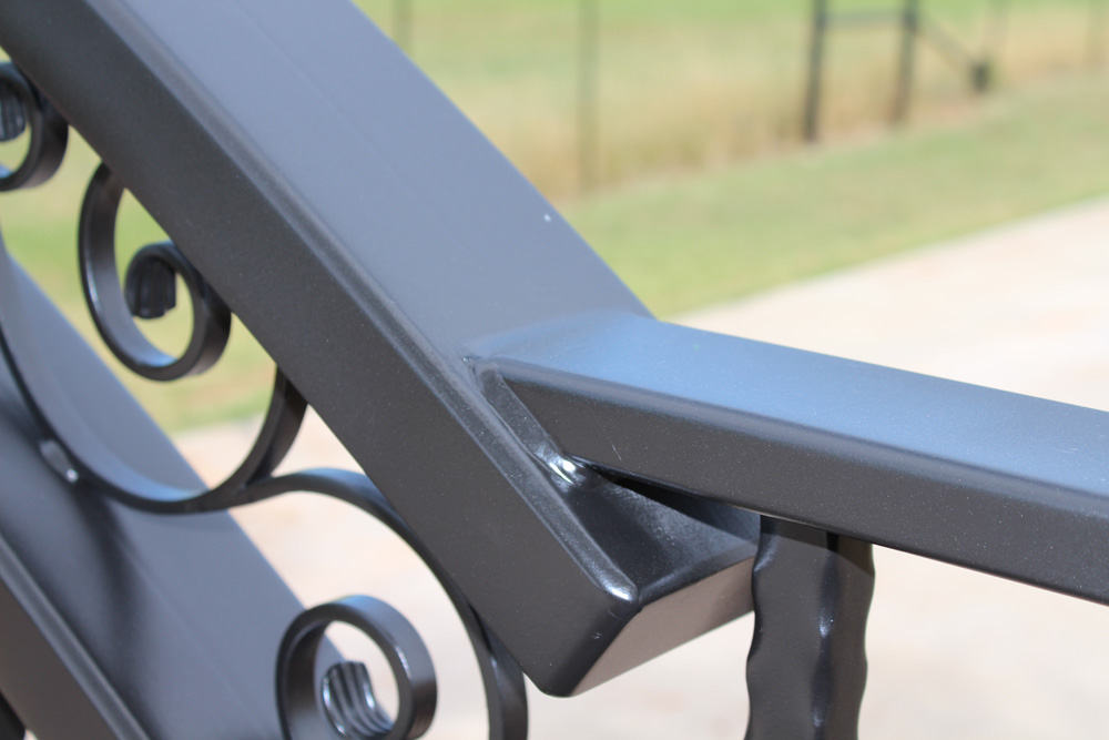 driveway iron gate details