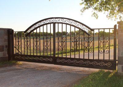 McPerson Driveway Gate