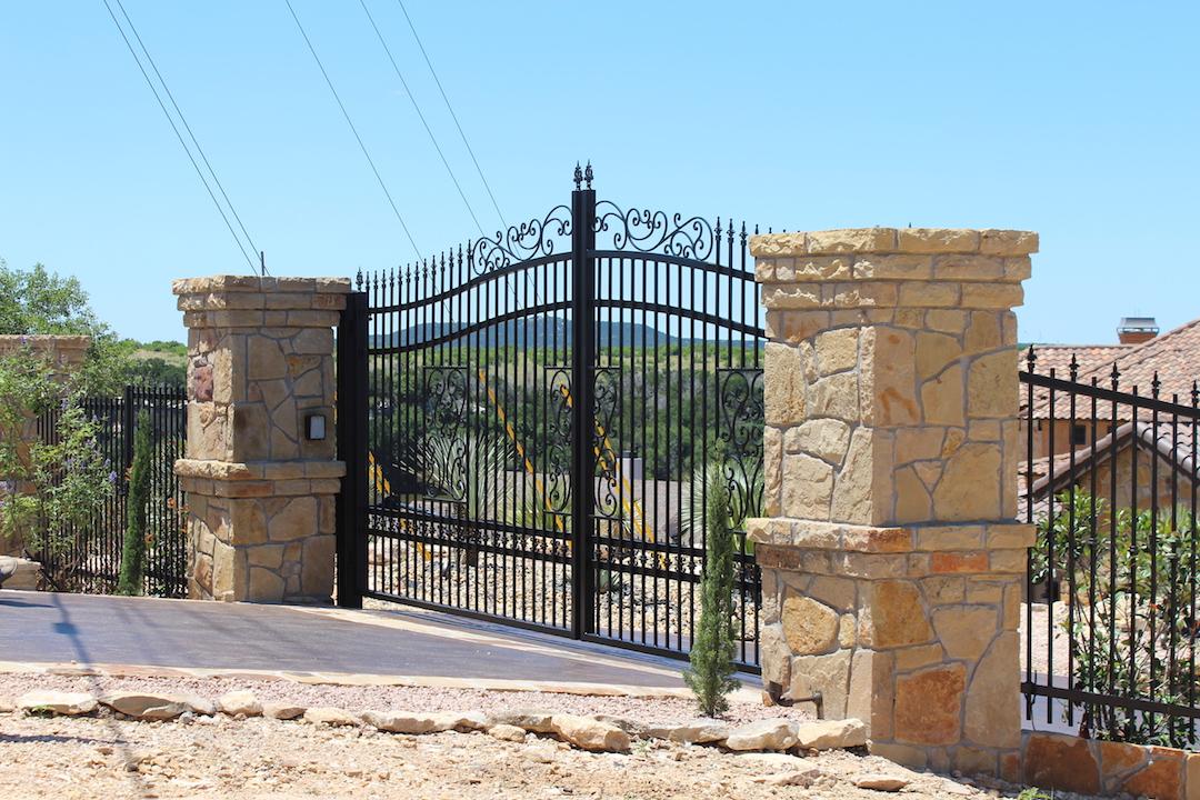 Tall Driveway Gate Aberdeen Gate