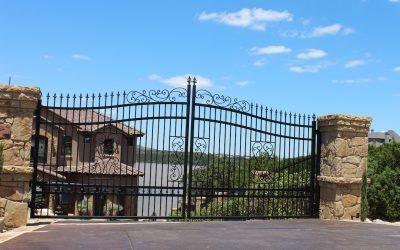 Tall Driveway Gate