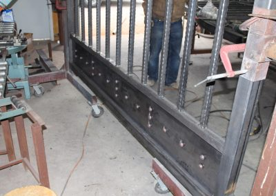 heartbrand ranch gate build-3