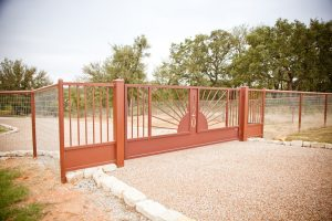 red ranch gate