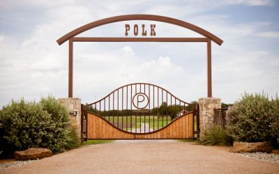Polk Ranch Gate