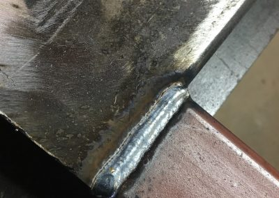 security gate weld