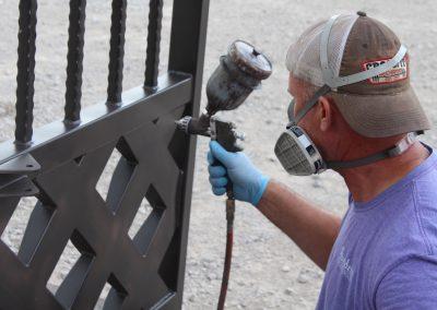 talbert custom iron driveway gate1520
