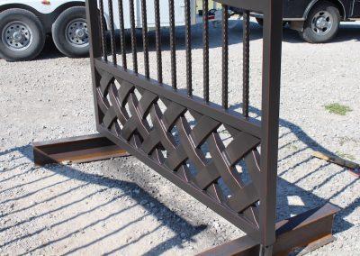 talbert custom iron driveway gate1538