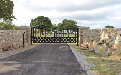 Galleries Ranch Driveway Entry Gates Longhorn Driveway