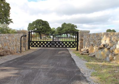 talbert custom iron driveway gate1552