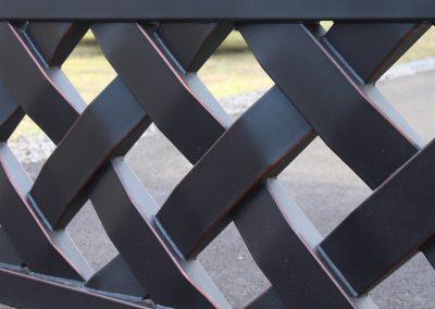 talbert custom iron driveway gate1564