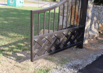 talbert custom iron driveway gate1572