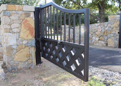 talbert custom iron driveway gate1575