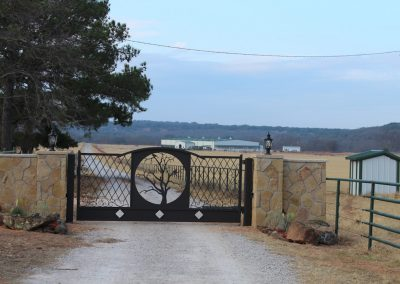 vanessa custom iron ranch gate