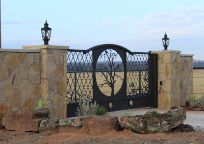 vanessa custom iron ranch gate1681