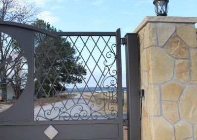 vanessa custom iron ranch gate1692