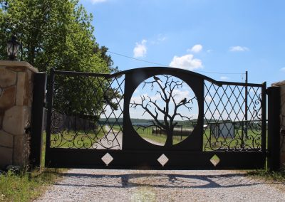 vanessa custom iron ranch gate2585