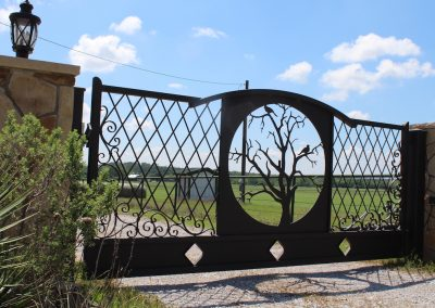 vanessa custom iron ranch gate2586