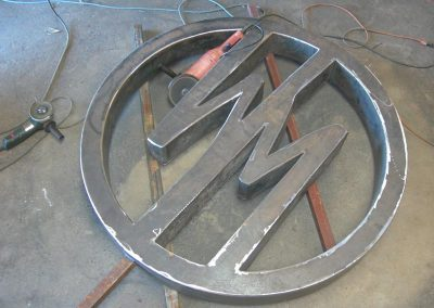 wild mushroom custom iron sign8
