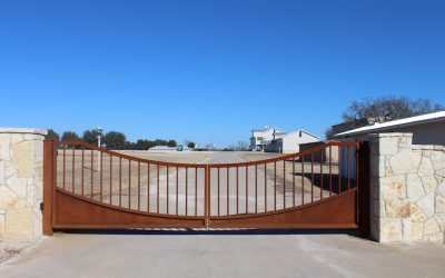 Business Entrance Gate