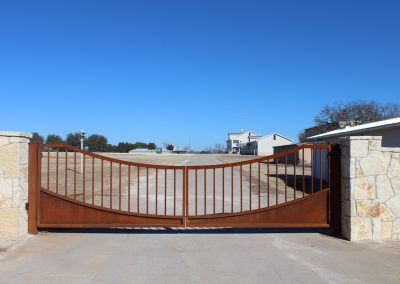 williamson custom security iron gate