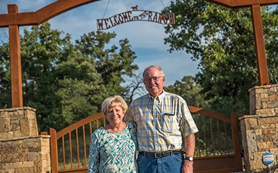 Custom Ranch Gate – Burton's CLIENT PROFILE