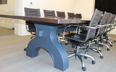 Custom Iron Works Conference Table