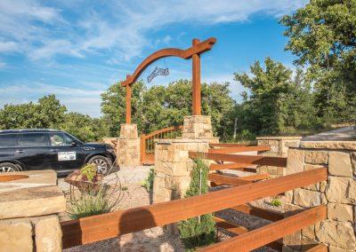 iron ranch gate