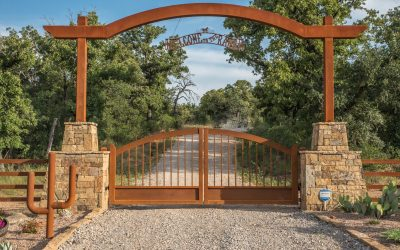 Arched vs Straight Driveway Gate Designs
