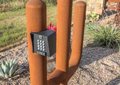 iron cactus keypad