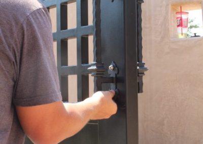 installing gate handles
