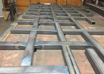 gate fabrication layout
