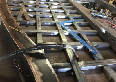 braided metal gate fabrication