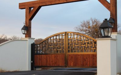 Braided Ranch Gates