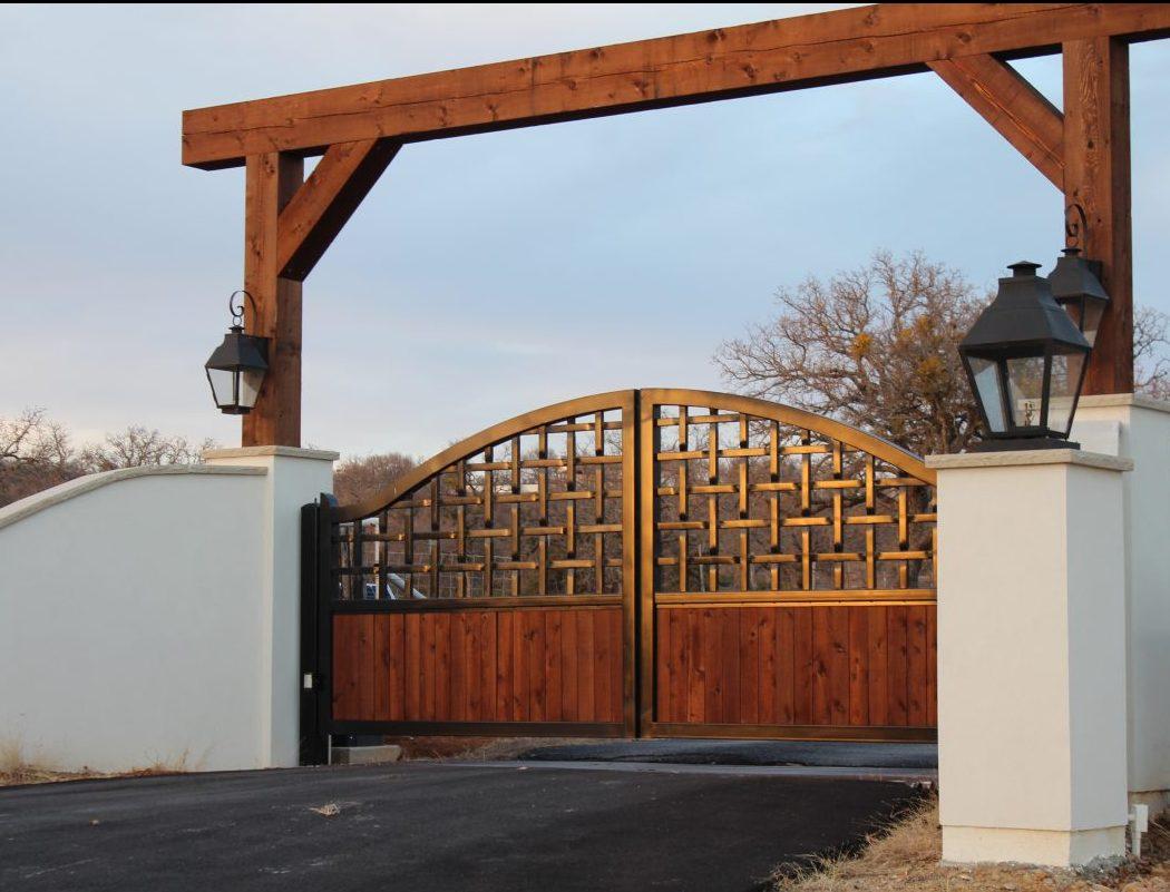 Home Design Gate Ideas: Braided Ranch Gates