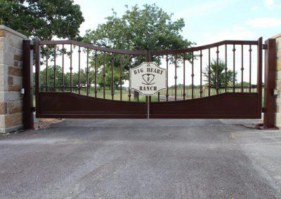 big heart ranch gate