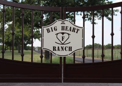 Big Heart Ranch Gate