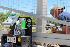 installing security gate with viking H-10