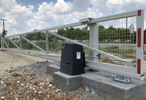 sliding security gate with viking H-10