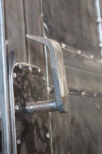 fabricated door handle