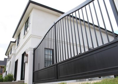 gate for a modern french home