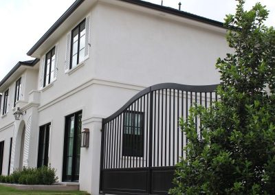 modern french home gate