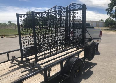 Mediterranean-style gates headed out