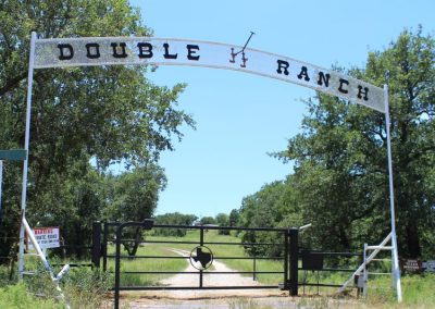texas ranch gate