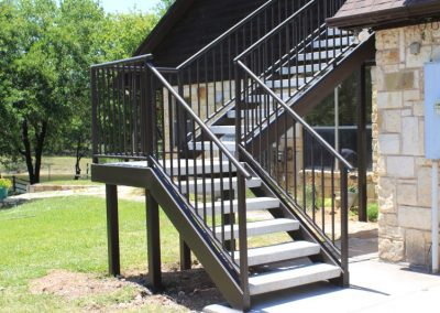 Traditional Style Iron Staircase