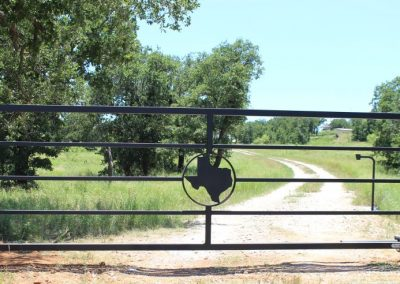 texas ranch security gate